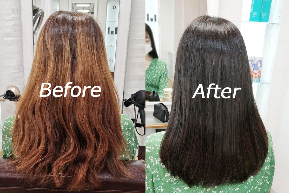 【料金】髪質改善シャインカラーエステ